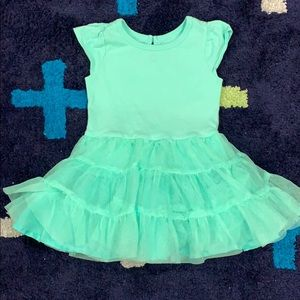 EUC Old Navy dress with tutu for baby
